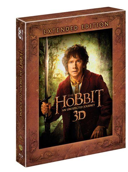 Hobit: Neočekávaná cesta - prodloužená verze 3D+2D (5BD) - Blu-ray