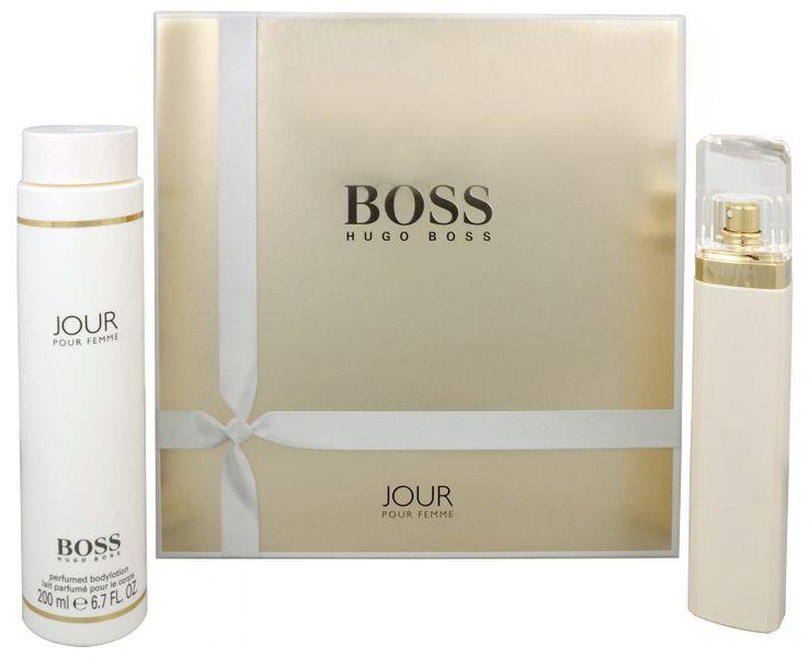 Boss Jour Pour Femme - parfémová voda s rozprašovačem 75 ml + tělové mléko 200 ml