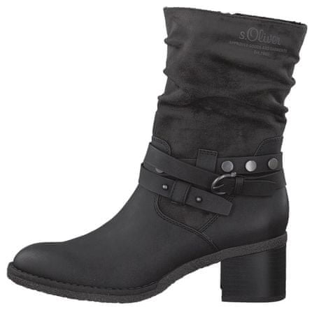 s.Oliver ženski škornji 40 črna