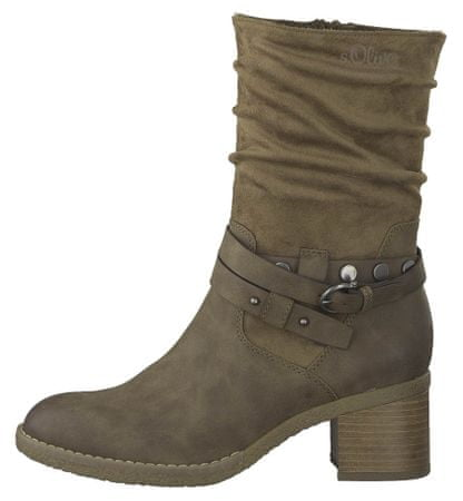 s.Oliver ženski škornji 36 rjava