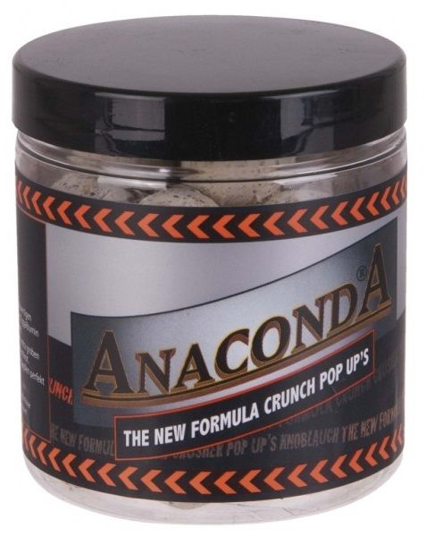 Anaconda Pop Up Boilie Crunch New Forumula 100 g 16 mm banán