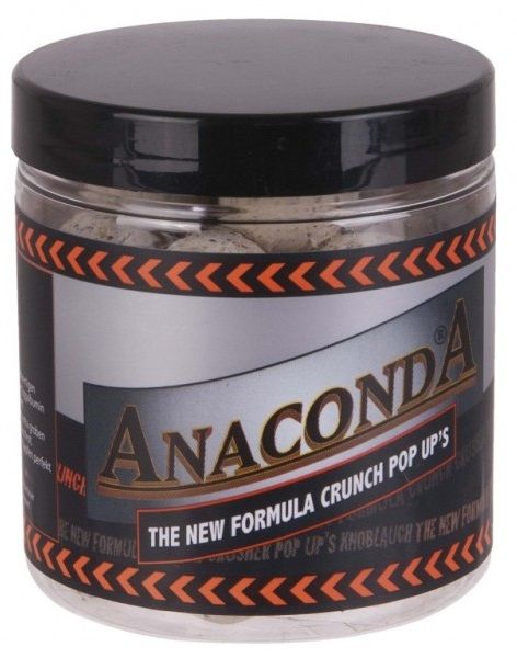 Anaconda Pop Up Boilie Crunch New Forumula 100 g 20 mm banán