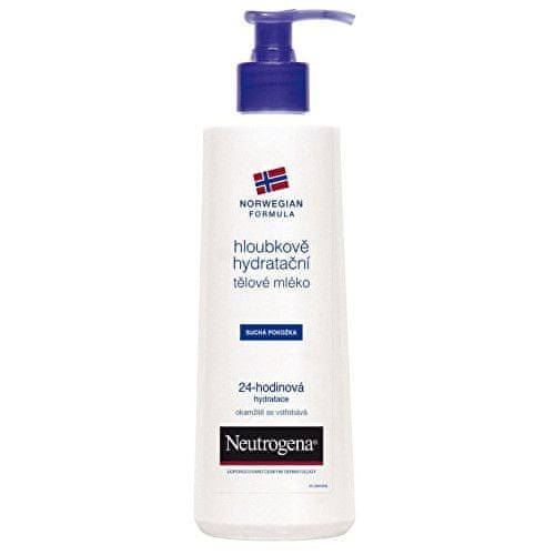 Neutrogena Hloubkově hydratační tělové mléko pro suchou pokožku 24 H (Odstín 250 ml)
