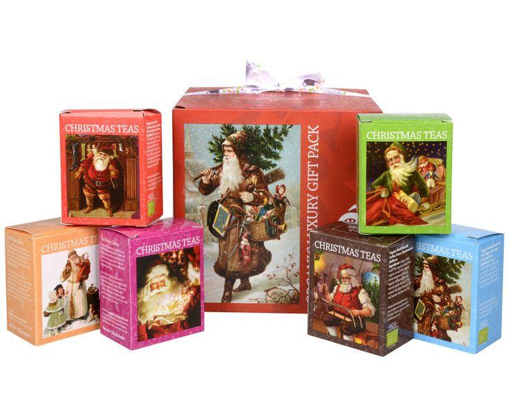 English Tea Shop Dárková kolekce - luxusní BIO čaje v červené kostce 96 sáčků/6 příchutí