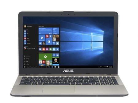 Asus prenosnik X541NA-GO402 N3350/4GB/SSD256GB/15,6HD/EndlessOS (90NB0E81-M07280)