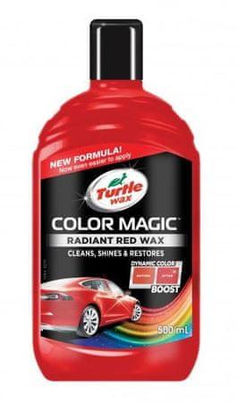 Turtle Wax polirna tekočina Color Magic Radiant Wax, rdeča