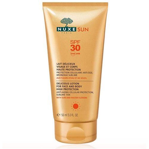 Nuxe Mléko na opalování SPF 30 Sun (Delicious Lotion) 150 ml