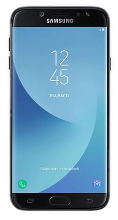 Samsung GSM telefon Galaxy J7 2017 Duos, črn