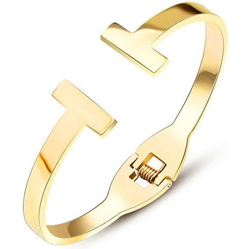 Troli Luxusní pozlacený náramek pro ženy