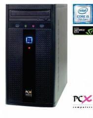PCX namizni računalnik Exam F2028 i5-7400/8GB/SSD240 GB/NV1030 2GB/FreeDOS (PCX EXAM F2028)