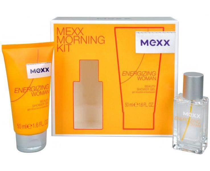 Mexx Energizing Woman - EDT 15 ml + sprchový gel 50 ml