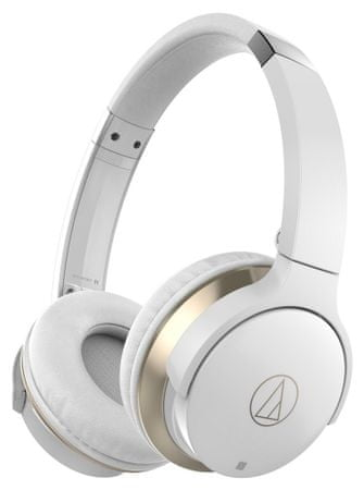 Audio-Technica ATH-AR3BT, bílá