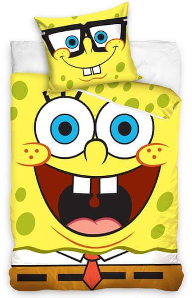 Carbotex Dětské povlečení Sponge Bob