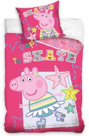 Carbotex posteljnina Pepa Pig