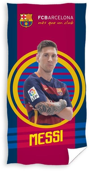 Carbotex Osuška FC Barcelona Messi 2016 70x140 cm