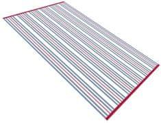 Carbotex ręcznik plażowy Ropes niebieski 90x170 cm