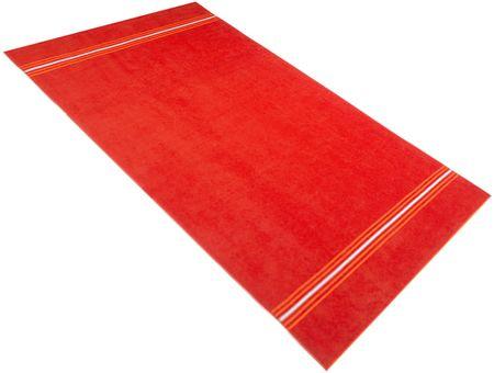 Carbotex ręcznik plażowy  Fresh Feeling pomarańczowy 90x170 cm