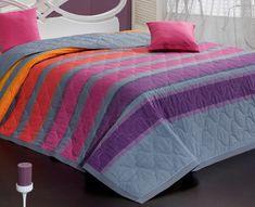 Carbotex Elle lila ágytakaró 220x240 + 2x 40x40 cm 1575fd9a9c