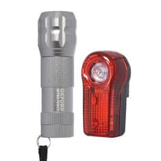 Oxford komplet LED luči za kolo Ultra Torch, siva