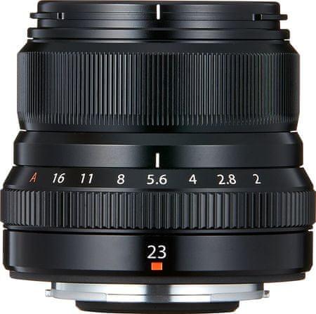 FujiFilm objektiv XF 23mm F2.0 R, črn