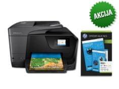 HP AiO tiskalnik OfficeJet Pro 8710 AiO+ komplet HP 953XL CMY OVP kartuš