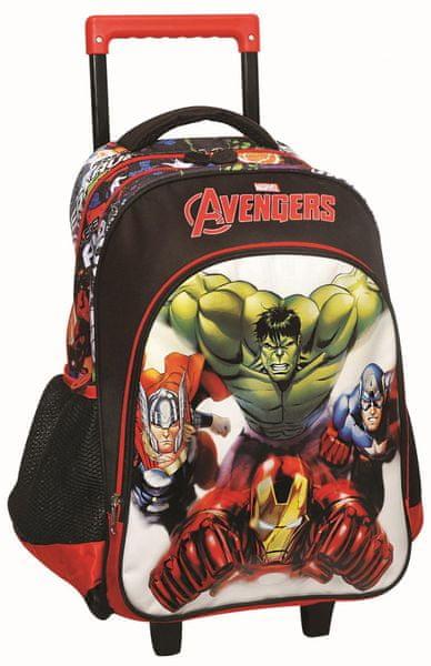 GIM Školní batoh na kolečkách Avengers
