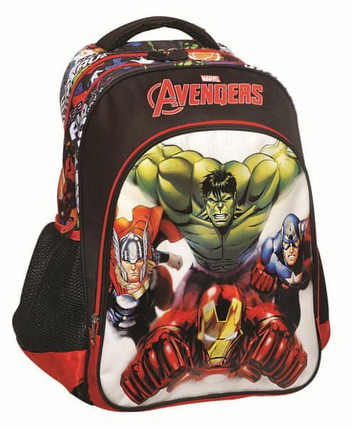 GIM Školní batoh oválný Avengers