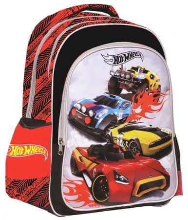 bc4139469b1 GIM Školní batoh oválný Hot Wheels
