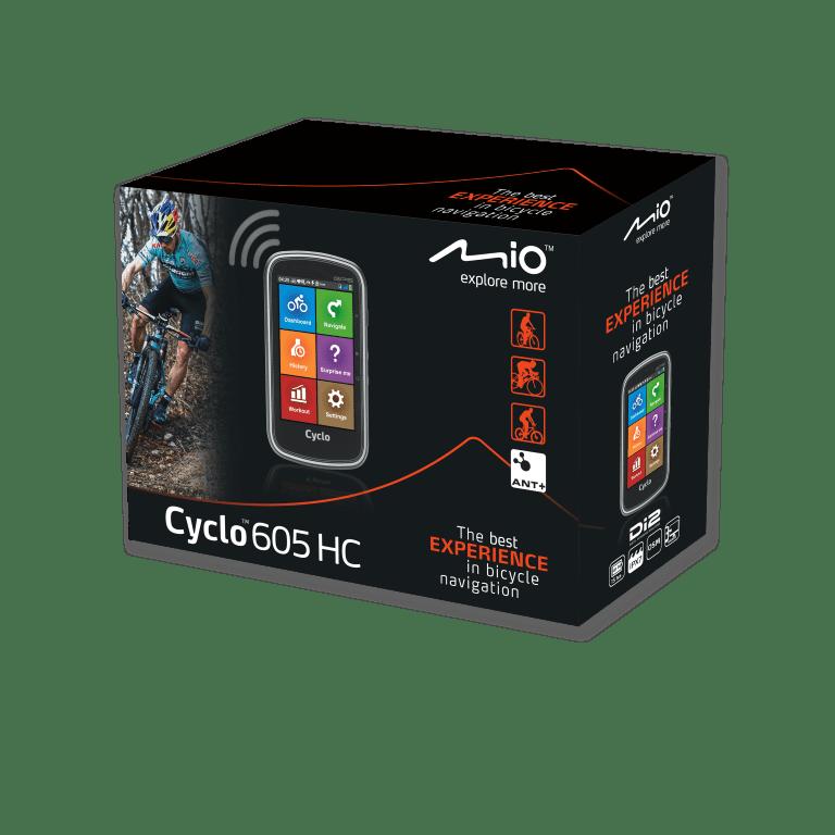 "MIO Cyclo 605HC - 4"" cyklonavigace"