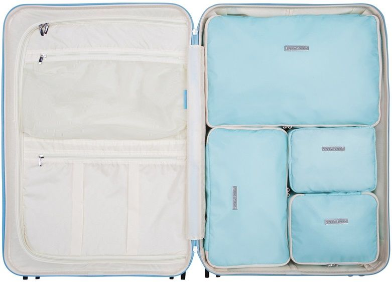 SuitSuit Sada obalů Perfect Packing System L Baby Blue
