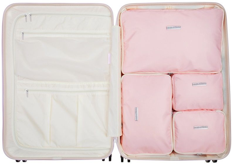 SuitSuit Sada obalů Perfect Packing System L Pink Dust