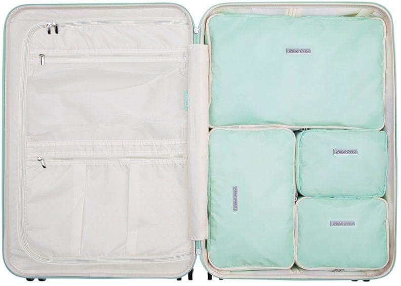 SuitSuit Sada obalů Perfect Packing System L Luminous Mint