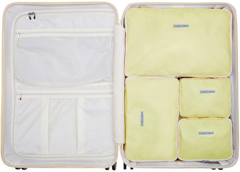 SuitSuit Sada obalů Perfect Packing System L Mango Cream