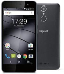 Gigaset GS160 - Okostelefon - 16 GB, Fekete