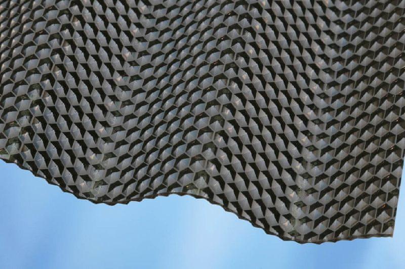 LanitPlast Vlnitý polykarbonát Marlon CSE Diamond síla 2,6 mm bronz 1,045x2,5 m