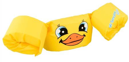 Sevylor jopič z rokavčki Puddle Jumper Deluxe, rumena raca