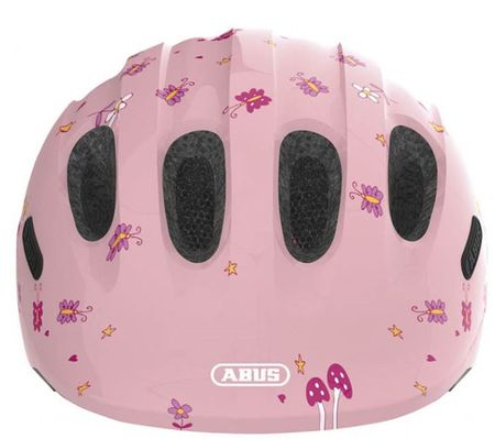 Abus otroška čelada Smiley 2.0, roza, S (45-50 cm)