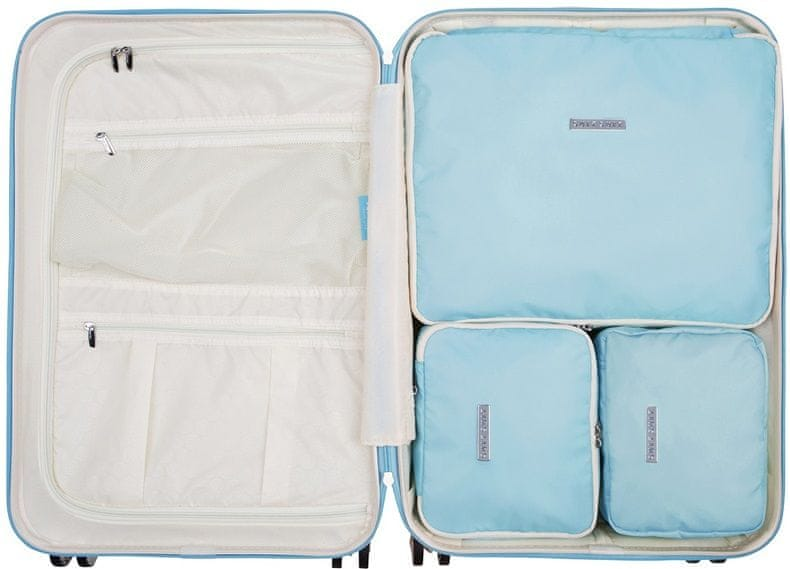 SuitSuit Sada obalů Perfect Packing System M Baby Blue