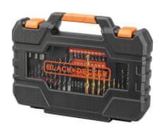 Black+Decker set svedrov, 104-delni