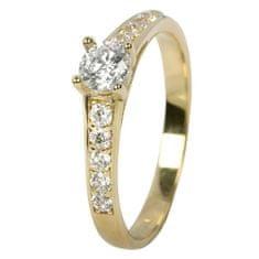 Brilio Dámsky prsteň s kryštálmi 229 001 00668