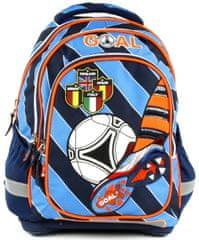 Target Školní batoh Goal modré proužky