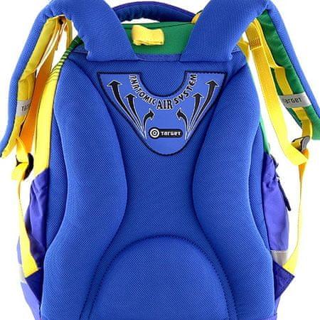 0a7965c53a5 Target Školní batoh Goal modro-zelený - Parametry