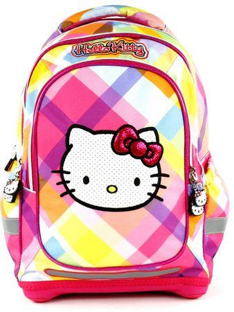 Target Školní batoh Hello Kitty Yellow Square  1ac08070cf