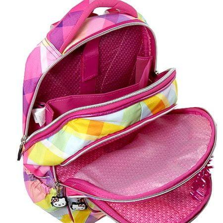 Target Školní batoh Hello Kitty Yellow Square  4480dd6fd5
