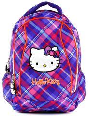 Target ergonomski šolski nahrbtnik Hello Kitty, vijoličen