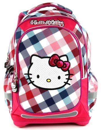 Target Školní batoh Hello Kitty Square  ce8c1a6a08