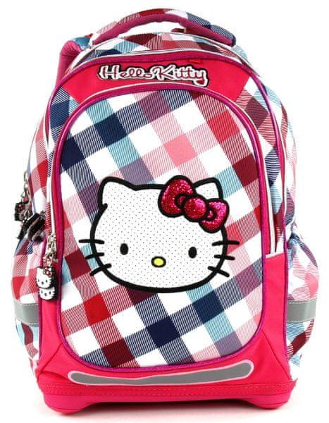 Target Školní batoh Hello Kitty Square