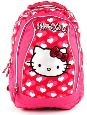 Target Školní batoh Hello Kitty srdíčka - Parametry  d8ab6cf7be
