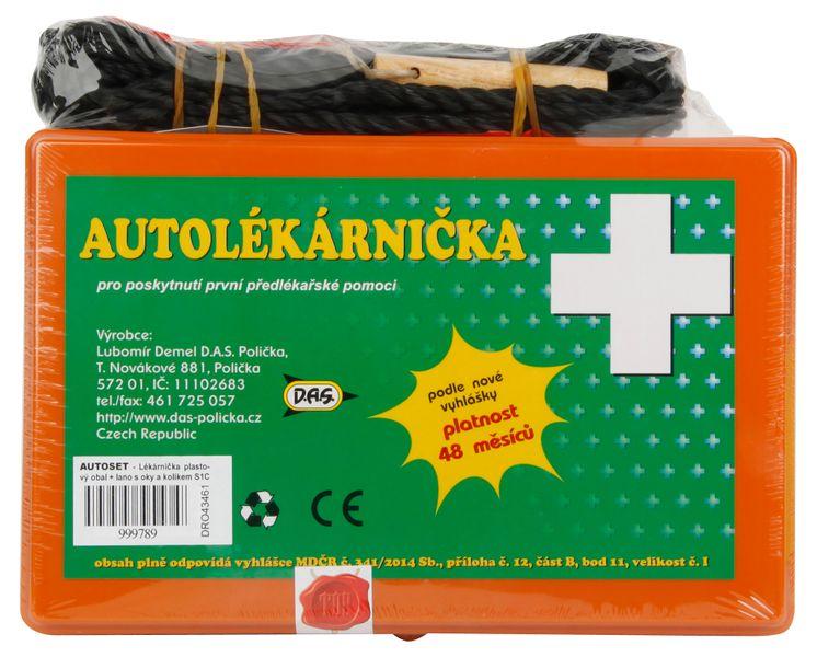 Set povinné výbavy Mini textilní krabička