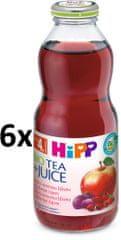 HiPP BIO Nápoj se šťavou z červených plodů a šípkovým čajem -6x0,5l